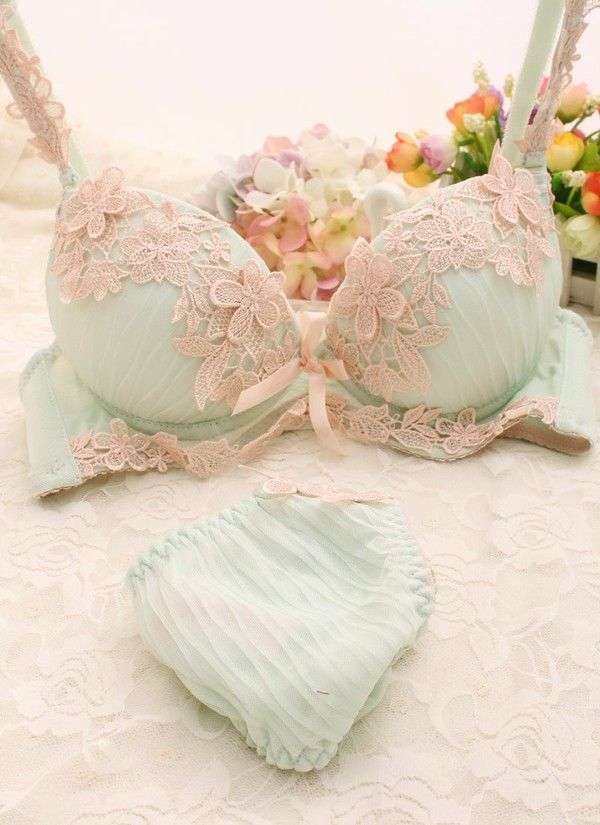 Mint underwear.