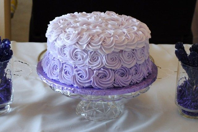 Sofia the First- This is a beautiful cake idea!