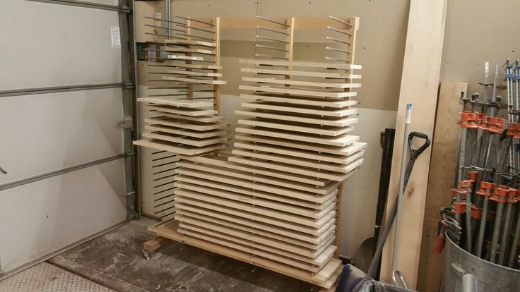 Drying Rack For Cabinet Doors Spray Room Booth