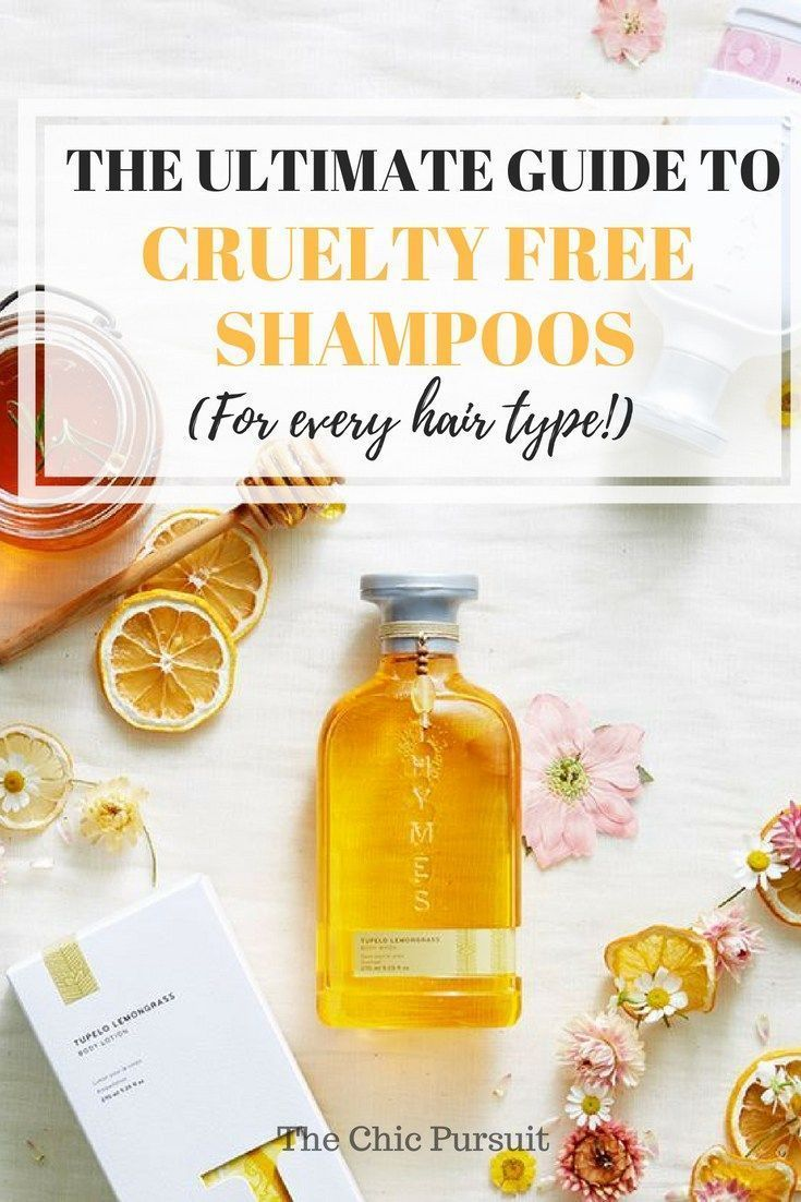 0be97f8939b The ULTIMATE guide to cruelty free shampoos for every hair type! No animal  testing has been done with these products, and they are also vegan.
