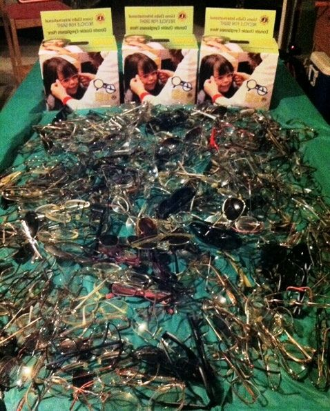 Dixon Lions Club (CA, USA) | Lions held an eyeglass recycling campaign
