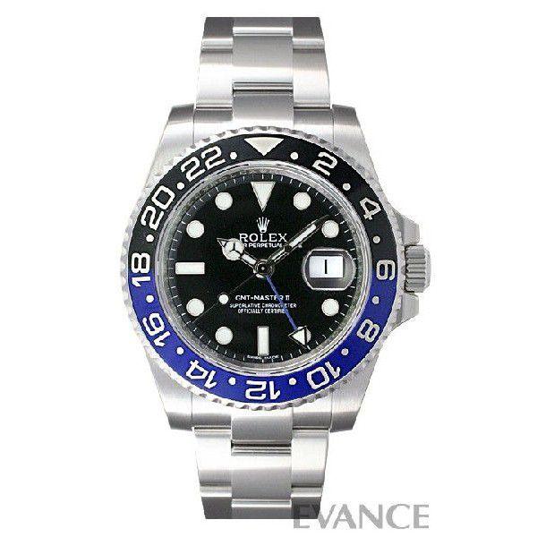 ROLEX ロレックス GMTマスターII Ref.116710BLNR :RX0833:エバンス ヤフー店 - 通販 - Yahoo!ショッピング