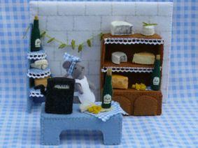 Wijn en kaas winkel