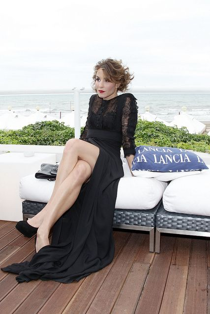 Noomi Rapace attends the Lancia Cafe during the 67th Venice International Film Festival on September 6, 2010 in Venice, Italy