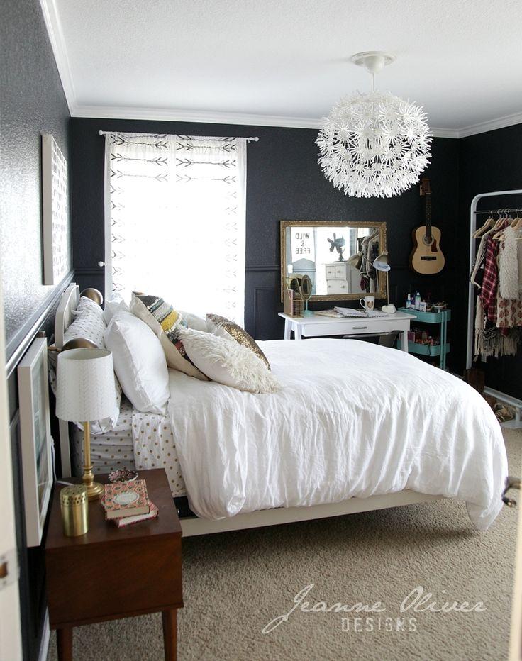 191 besten cute rooms Bilder auf Pinterest - schlafzimmer dunkle farben