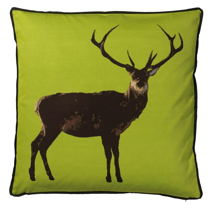 eu.Fab.com | Cushion Deer Lime #cushions #design #home