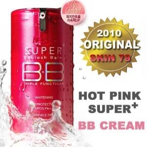 Skin 79 merupakan produk terkenal yang sudah banyak digunakan, terlaris dan terbaik sebagai Produk Kecantikan BB Cream, merawat wajah secara sempurna. Mengandung bahan-bahan terbaik untuk Merawat Wajah info selengkapnya di http://lianytomodachishop.blogspot.com/2012/11/produk-skin79-bb-cream-hot-pink-40gr.html