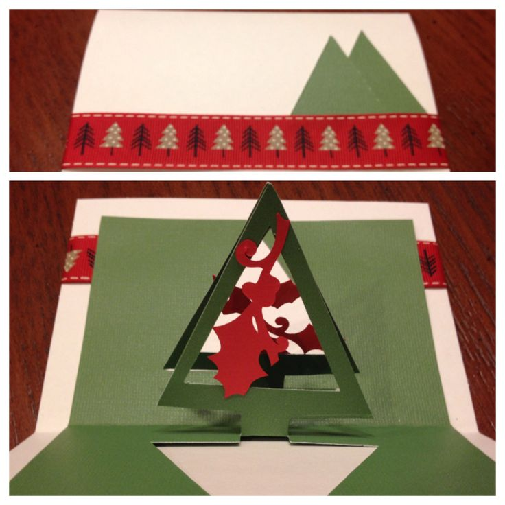 Christmas pop up card