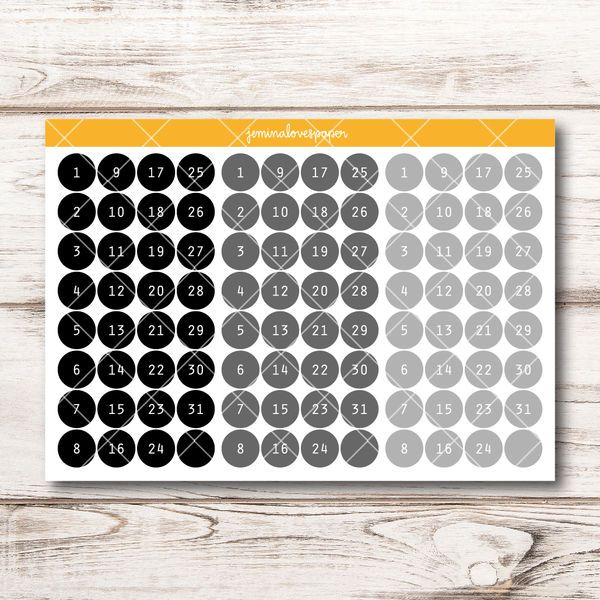 Neutral Date Dots saa olla 2 arkkia- Hinta 3,20 €