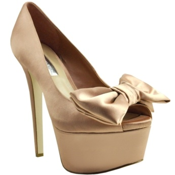 Obsessed With This ColorNude Shoes, Beautiful Bows, Shoes Shoes Sho, Bows Heels, Bakers Shoes, Shoes 3, Cool Shoes, Classy Shoes, Style Fashion