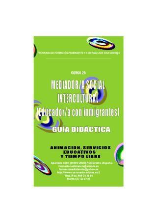 Guia Didactica Curso Mediador Intercultural -Educador con Inmigrantes-