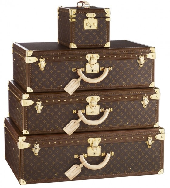 Maybe one day some Louis Vuitton luggage??