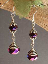 Czech Earring Tutorial Earrings 2 Pinterest Beaded And Crystal