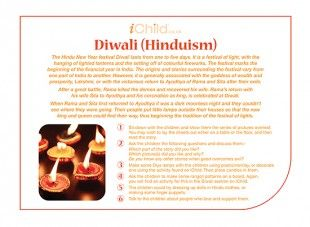 The Hindu festival of Diwali is celebrated on 13th November. Below is our Diwali religious festival story for Hinduism.