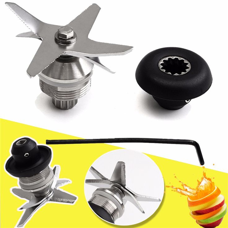 Durable Quality Stainless Steel Silver+Black Blade And Drive Socket Combo Kit For Vitamix Blender Parts
