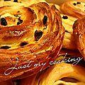 Pains aux raisins (recette cap patissier)