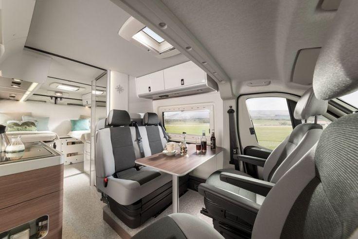 Interior of the westfalia columbus camper van built on for Interior westfalia