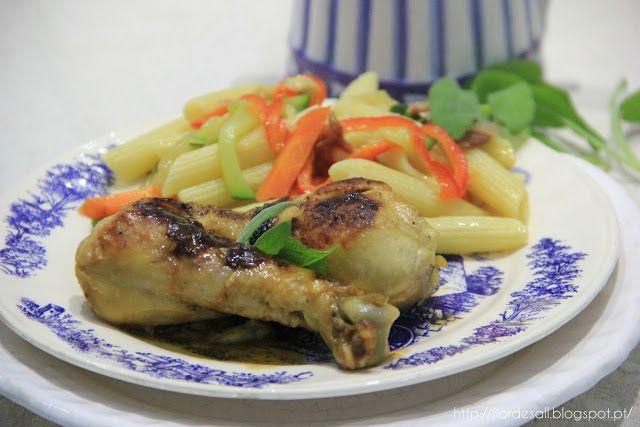 Flor de Sal: Perninhas de frango aromatizadas com sálvia e vina...