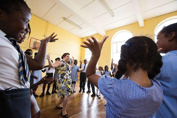 St Thomas of Canterbury School dance class