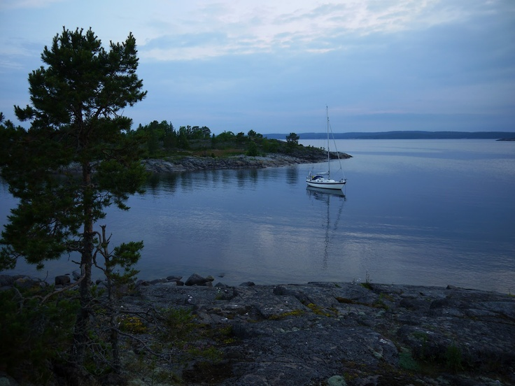 S/Y Dolphin Dance sailing blog | a Finnish Hallberg-Rassy 29 sailing in the Northern Europe: Starting the journey towards Stockholm