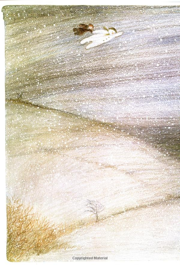 "~ Raymond Briggs, ""The Snowman"" ~ this is a wonderful, sweet movie and book"