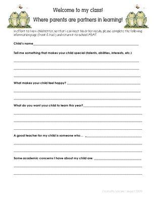 Best 25+ Parent survey ideas on Pinterest 1st year teachers - parent survey template