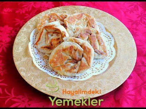 Tavada Gül Böreği   Resimli Yemek Tarifleri Hayalimdeki Yemekler