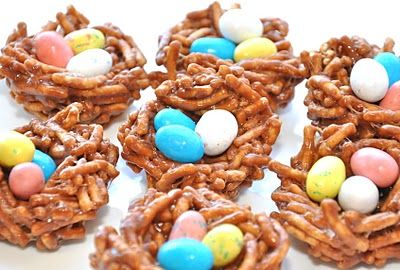 Robins Nest No-Bake Treats - Another garden-themed no-bake treat perfect for Daisies and Brownies. Also fits thematically with the 3 Cheers for Animals Daisy Journey.