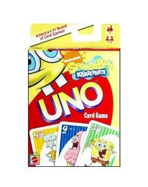 Spongebob Squarepants Uno Card Game by Mattel « Delay Gifts
