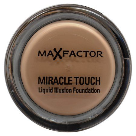Max Factor Miracle Touch Liquid Illusion Foundation, 40 Creamy Ivory, 0.41 Oz, Multicolor