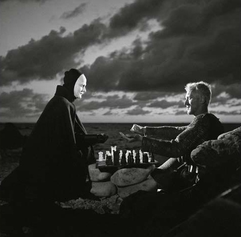 "Max von Sydow -- Bergman's ""The Seventh Seal"" 1957"