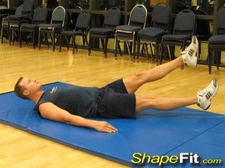 Abdominal flutter kicks are a common exercise you see in the military because they are great for targeting the muscles of the lower abs and overall core.