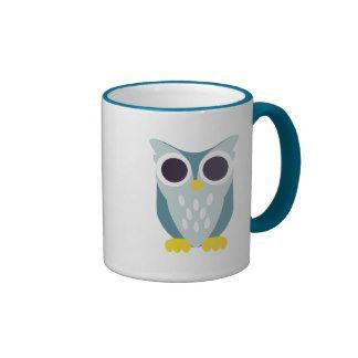 Henry the Owl Ringer Coffee Mug