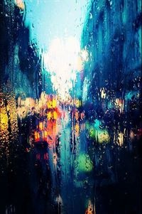 I don't feel any pain,  A little fall of rain