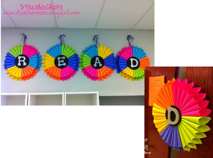 Easy Classroom Decor Ideas ~ Best library decorations images on pinterest class