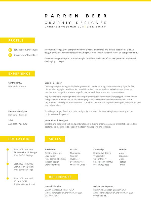 best resume examples download