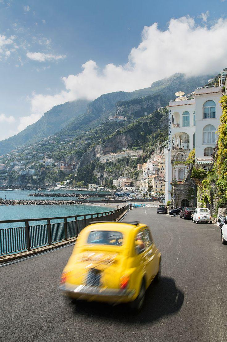 The Amalfi Coast's coastal drive