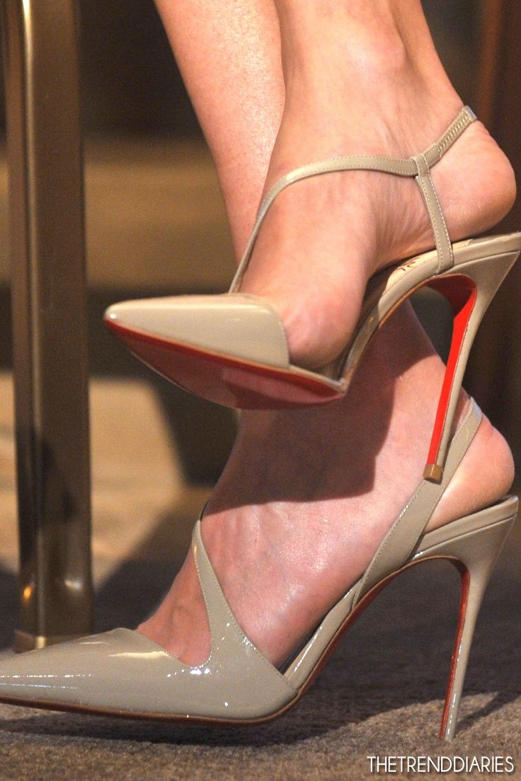 Nude Louboutin -- 35 High Fashion Heels On The Street - Style Estate -