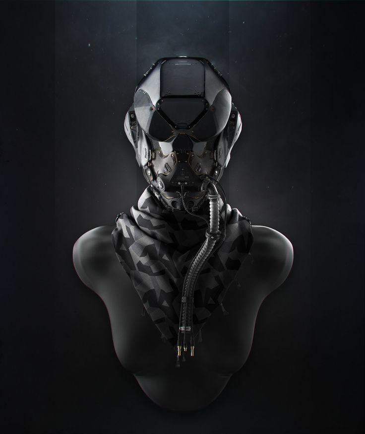Su-48 Gen IV Helmet Concept, Vladimir  Somov on ArtStation at https://www.artstation.com/artwork/su-48-gen-iv-helmet-concept