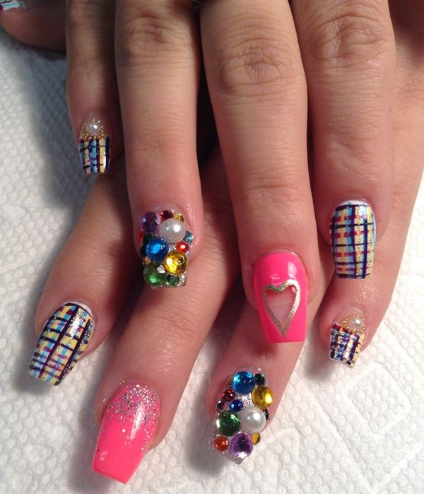 455 Best Valentines Day Nail Art Images On Pinterest