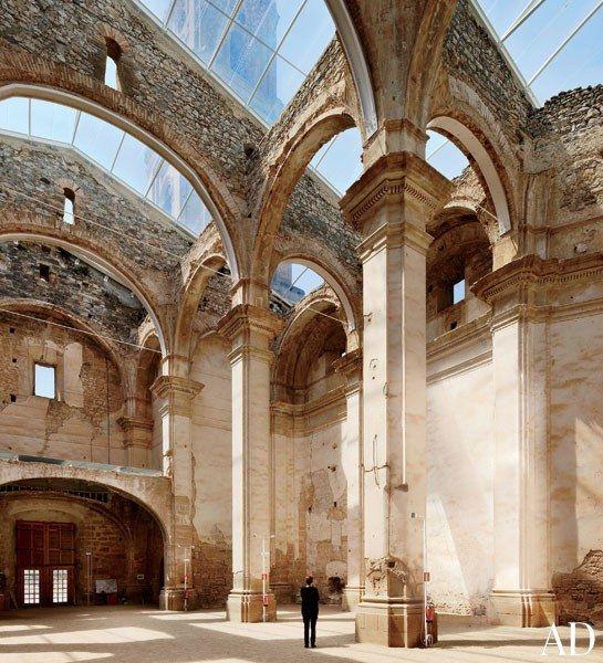 Ferran Vizoso Architecture Preserves the Ruins of a Baroque Church | Architectural Digest