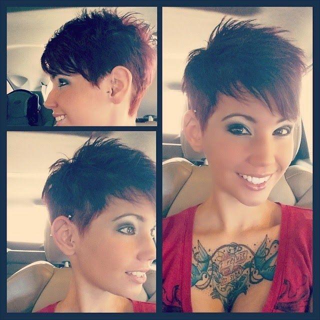 Kendra The Erratic Pixie Hair Tattoospixie Undercutvery Short