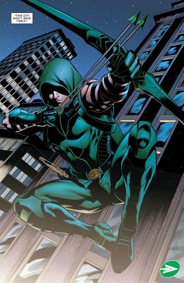 Green Arrow (New 52's comic Final)