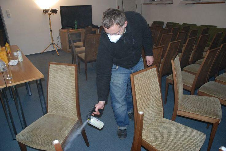 Závěrečné fixační lakování, #oprava, #lakování, #židle, #stůl, #nábytek, #repair, #Instandsetzung, #Reparatur, #furniture, #Möbel, #hotel