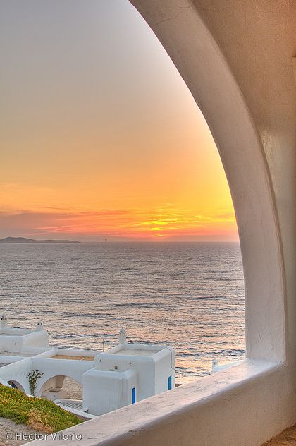 Sunset over Greece - ASPEN CREEK TRAVEL - karen@aspencreektravel.com
