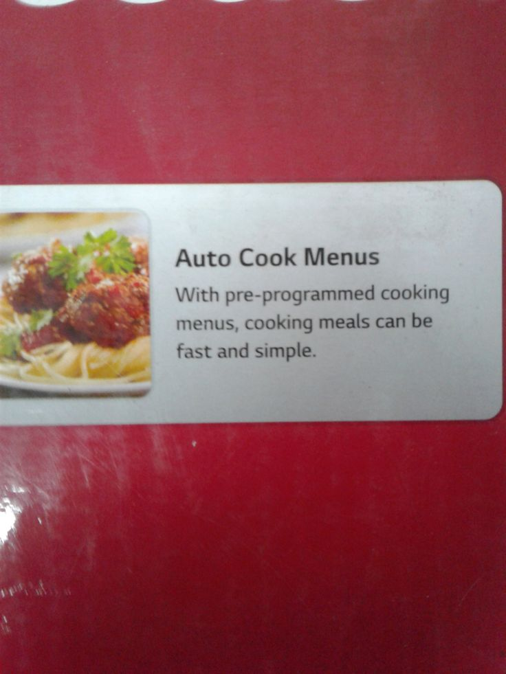 When I first saw this earlier today, I thought it said Auto Cook Memes.