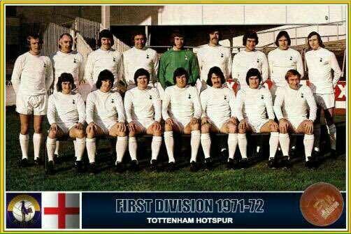 Spurs Team Photo 1971/1972 | Tottenham Hotspur Football Club