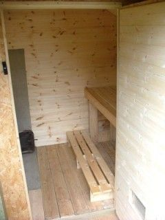 Sauna diy saunas pinterest furniture how to build for Cost to build a sauna