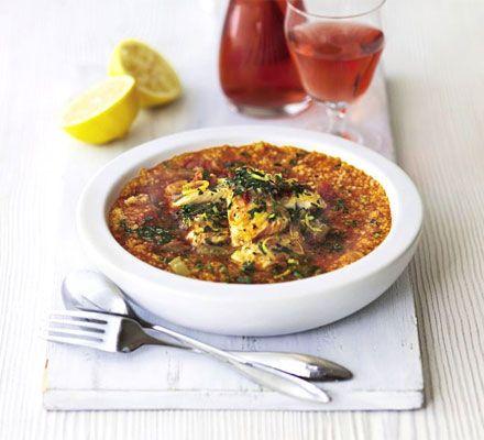 Sicilian-style fish stew recipe