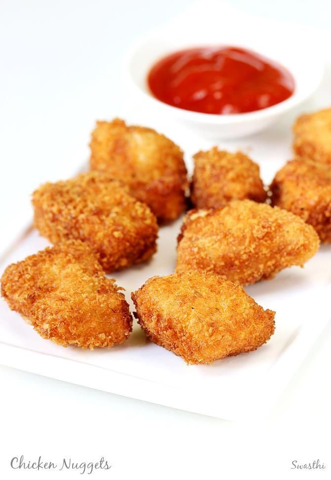 The 1627 best indian snacks and sweets images on pinterest indian chicken nuggets recipe how to make chicken nuggets recipe at home indian food forumfinder Image collections